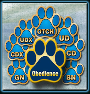 Obedience titles